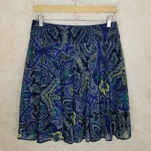 International Concepts – Stretchy paisley skirt –M